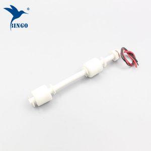 100 mm til 500 mm dobbelt PP floats lodret flyde niveau switch for vandtanke