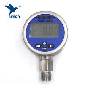 Intelligent Vakuum Digital Trykmåler, LCD, LED Display, 100MPa Gauge