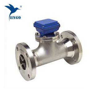 Trådet digital turbine vand flowmeter sensor